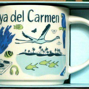 Starbucks Mug Playa del Carmen Been There Series C